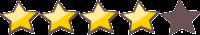 stelle recensioni 4