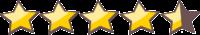 stelle recensioni 4.5