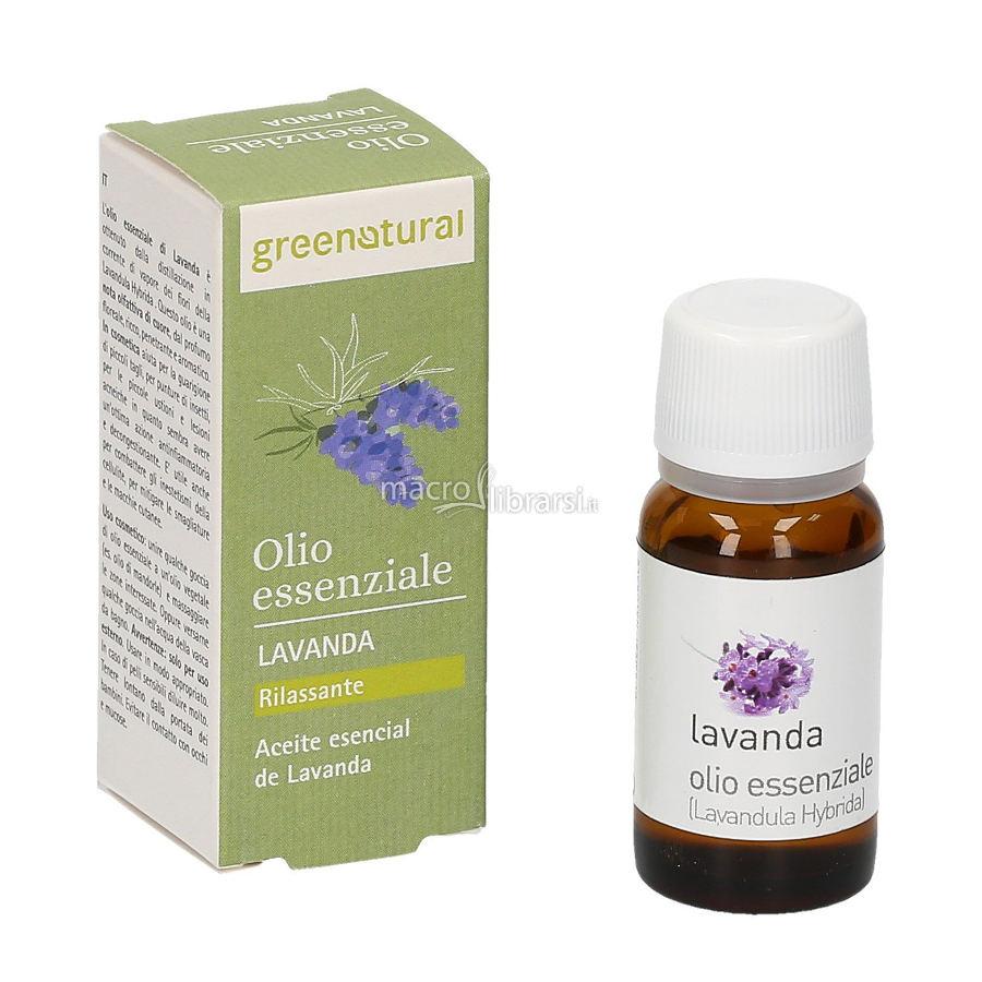 olio essenziale di lavanda puro greenatural