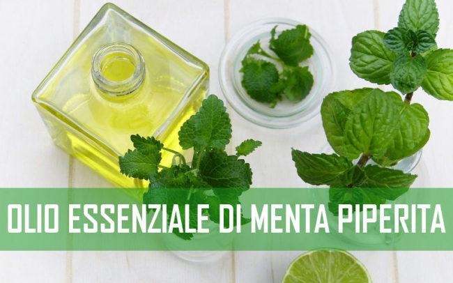 olio essenziale di menta piperita