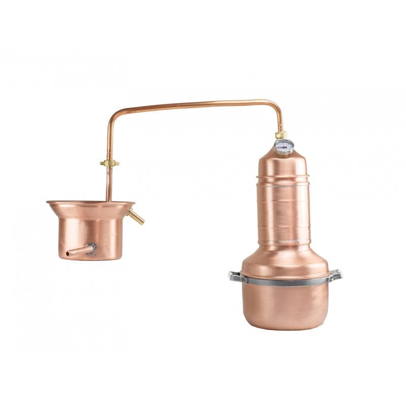 distillatore per oli essenziali 3 litri serpentina